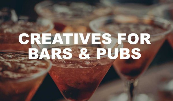 Creatives for Bars & Pubs with Photos