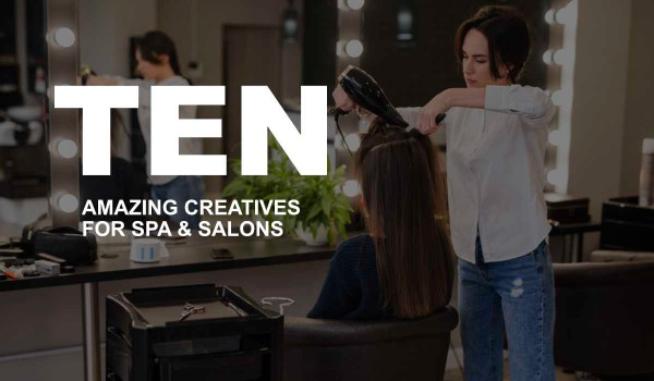 10 Amazing Creatives for Spa & Salon Small Business
